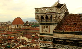 Vue de ville de Florence Photographie stock