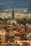 Vue de ville de Florence Images libres de droits