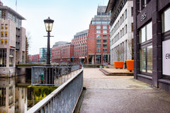 Vue de ville de Hambourg, Allemagne Photo libre de droits