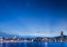 Vue 2014 de ville de Hong Kong Images stock
