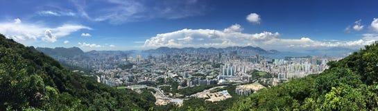 Vue de ville de Hong Kong images libres de droits