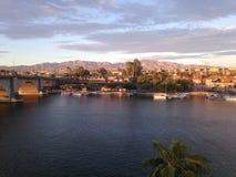Vue de ville de Lake Havasu images stock