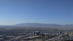 Vue de ville de Las Vegas Image stock