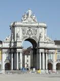 Vue de ville de Lisbonne Image stock
