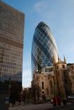 Vue de ville de Londres Images libres de droits