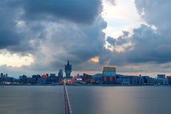 Vue de ville de Macao Images libres de droits