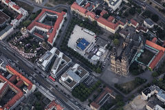 Vue de ville de Magdebourg Photo libre de droits