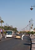 Vue de ville de Marrakech Photo stock