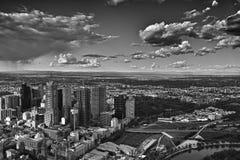 Vue de ville de Melbourne Images libres de droits