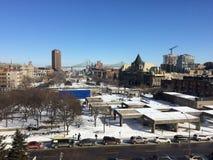 Vue de ville de Montréal Image stock