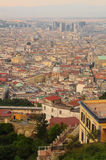 Vue de ville de Naples Photo stock