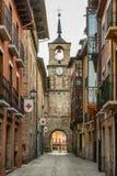 Vue de ville de Ponferrada Image libre de droits