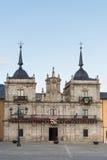 Vue de ville de Ponferrada Images stock