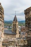 Vue de ville de Ponferrada Image stock