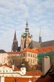Vue de ville de Prague, la capitale de la République Tchèque, vue de photo libre de droits