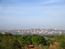 Vue de ville de Puerto Ordaz, Venezuela beau chiffre dimensionnel illustration trois du sud de 3d Amérique très Images libres de droits