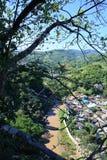 Vue de ville de Tachileik Photos stock