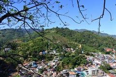Vue de ville de Tachileik Photographie stock libre de droits