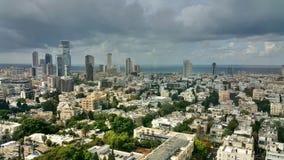 Vue de ville de Tel Aviv Image libre de droits