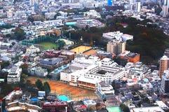 Vue de ville de Tokyo Images libres de droits