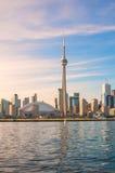 Vue de ville de tour et de Toronto de NC Image libre de droits
