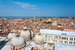 Vue de ville de Venise, Italie Images libres de droits