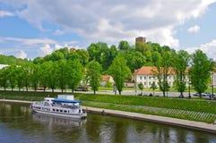 Vue de ville de Vilnius Photographie stock