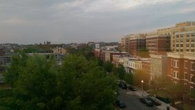 Vue de ville de Washington DC photo libre de droits