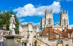 Vue de ville de York Photos libres de droits