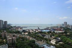 Vue de ville de Zhuhai Photo stock