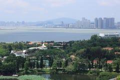 Vue de ville de Zhuhai Image libre de droits
