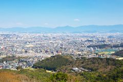 Vue de ville de Fukuoka à Fukuoka, Japon Photographie stock libre de droits