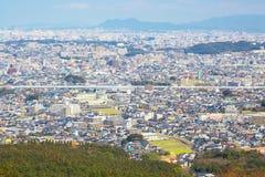 Vue de ville de Fukuoka à Fukuoka, Japon Photographie stock