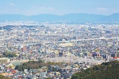 Vue de ville de Fukuoka à Fukuoka, Japon Photo libre de droits