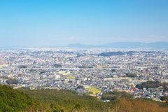 Vue de ville de Fukuoka à Fukuoka, Japon Image stock