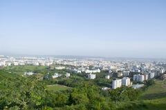 Vue de ville de la colline, Pune, maharashtra, Inde image stock