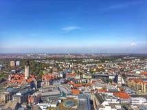 Vue de ville de Leipzig photo libre de droits