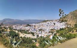 Vue de ville marocaine Photos stock