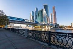 Vue de ville de Moscou images stock
