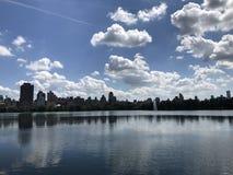 Vue de ville de New York City image stock