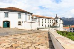 Vue de ville Ouro Preto, Brésil Images libres de droits