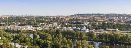 Vue de ville de Praque dans la République Tchèque Photographie stock libre de droits