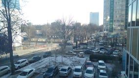 Vue de ville de Rostov photo stock
