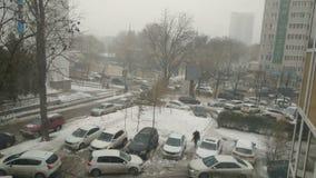 Vue de ville de Rostov photo libre de droits