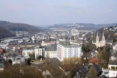 Vue de ville Siegen, Allemagne photographie stock