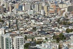 Vue de ville de Tokyo de plate-forme d'observation de Bunkyo photo stock