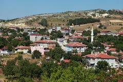 Vue de Vize, Kirklareli. Images libres de droits