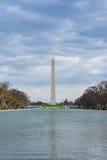 Vue de Washington Monument d'Abraham Lincoln Memorial Washington DC, Etats-Unis Photographie stock