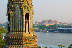 Vue de Wat Arun Photo stock