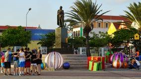 Vue de Willemstad, Curaçao image stock